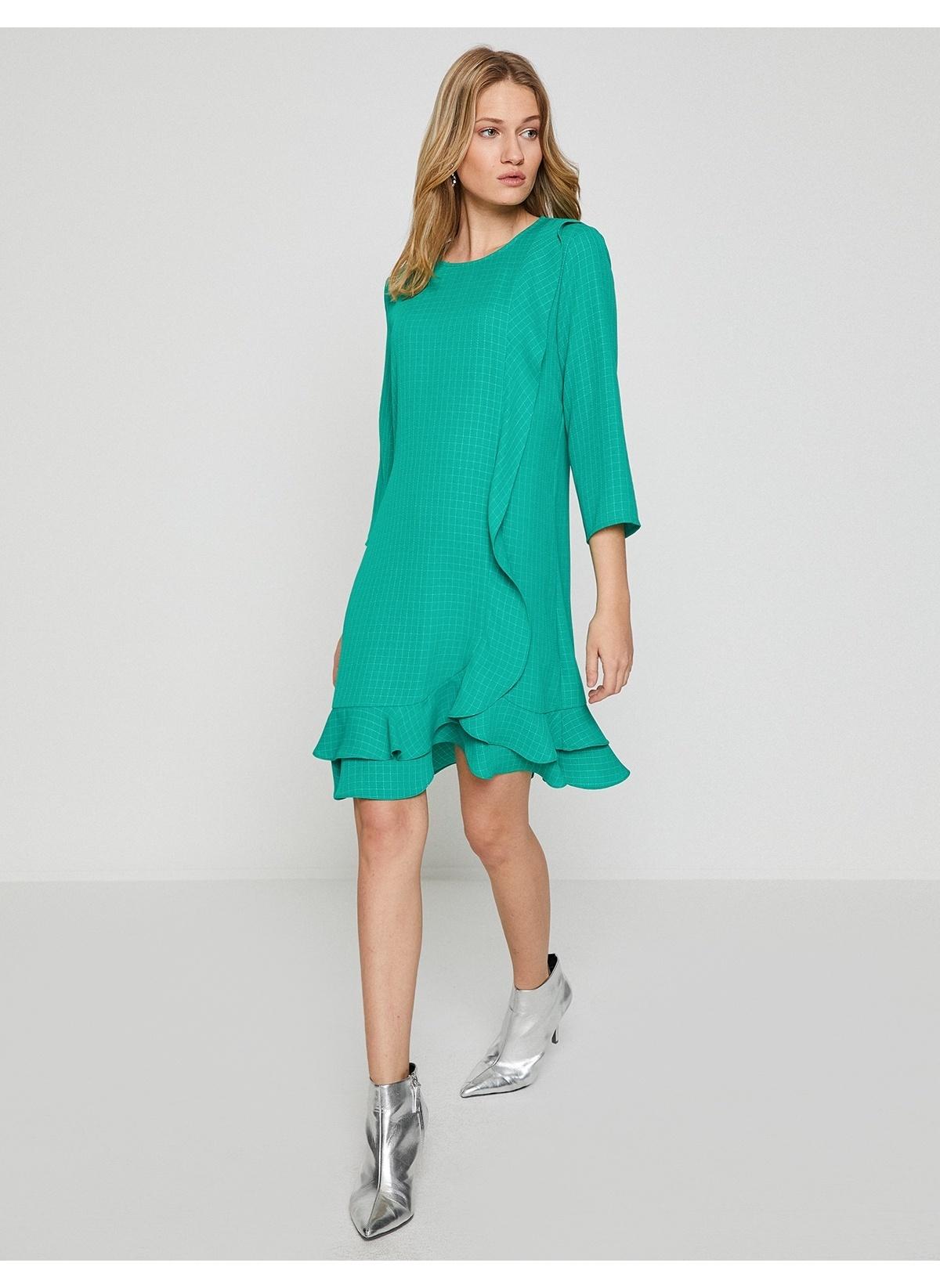 Yeşil Kısa Elbiseler